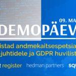 DEMOPÄEV: Tööriistad andmekaitsespetsialistidele, IT-juhtidele ja GDPR huvilistele