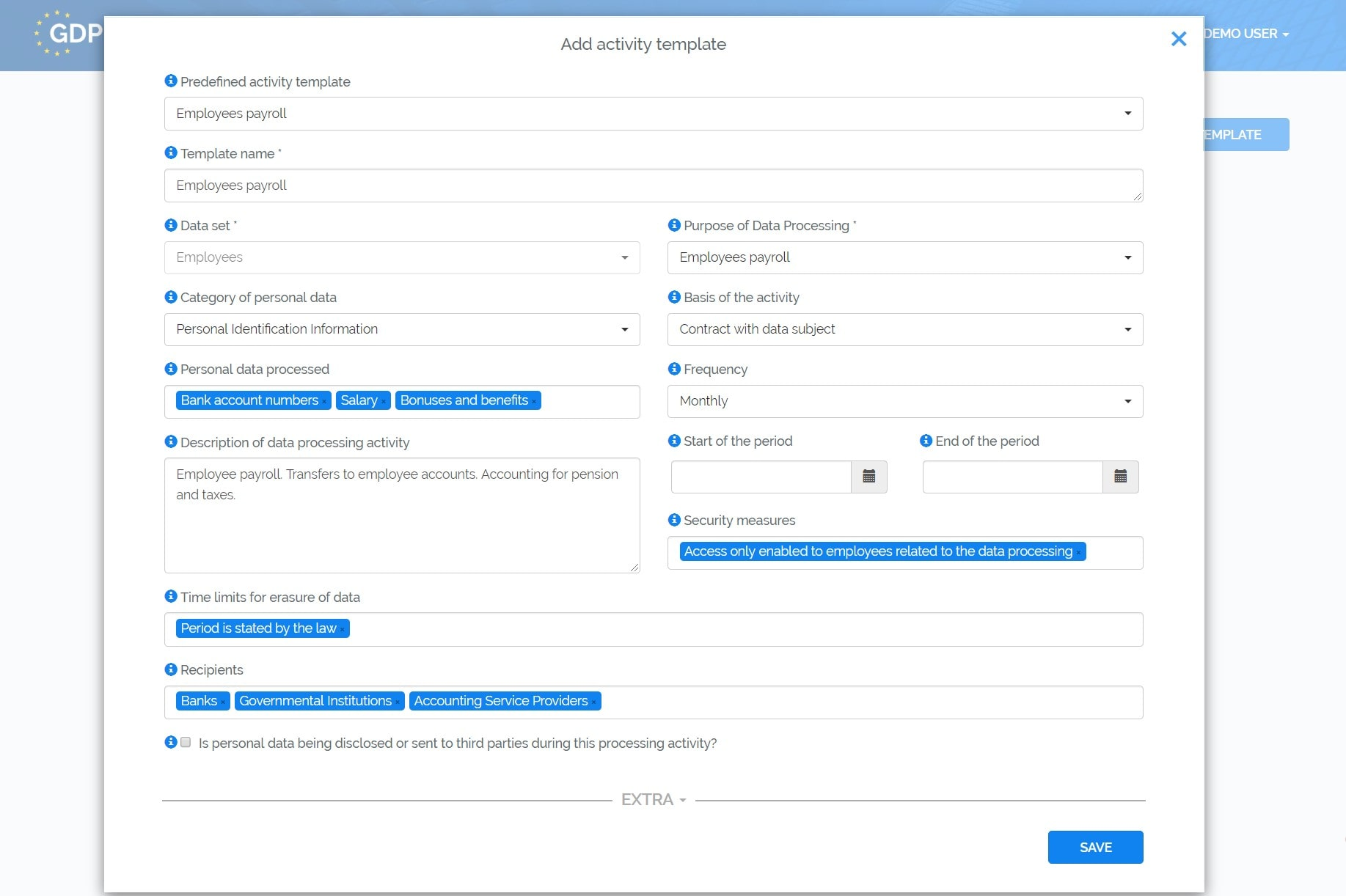 GDPR Register - Compliance Tool for Privacy Experts